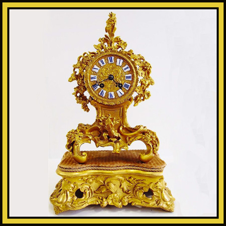 collectable antique mantle clock